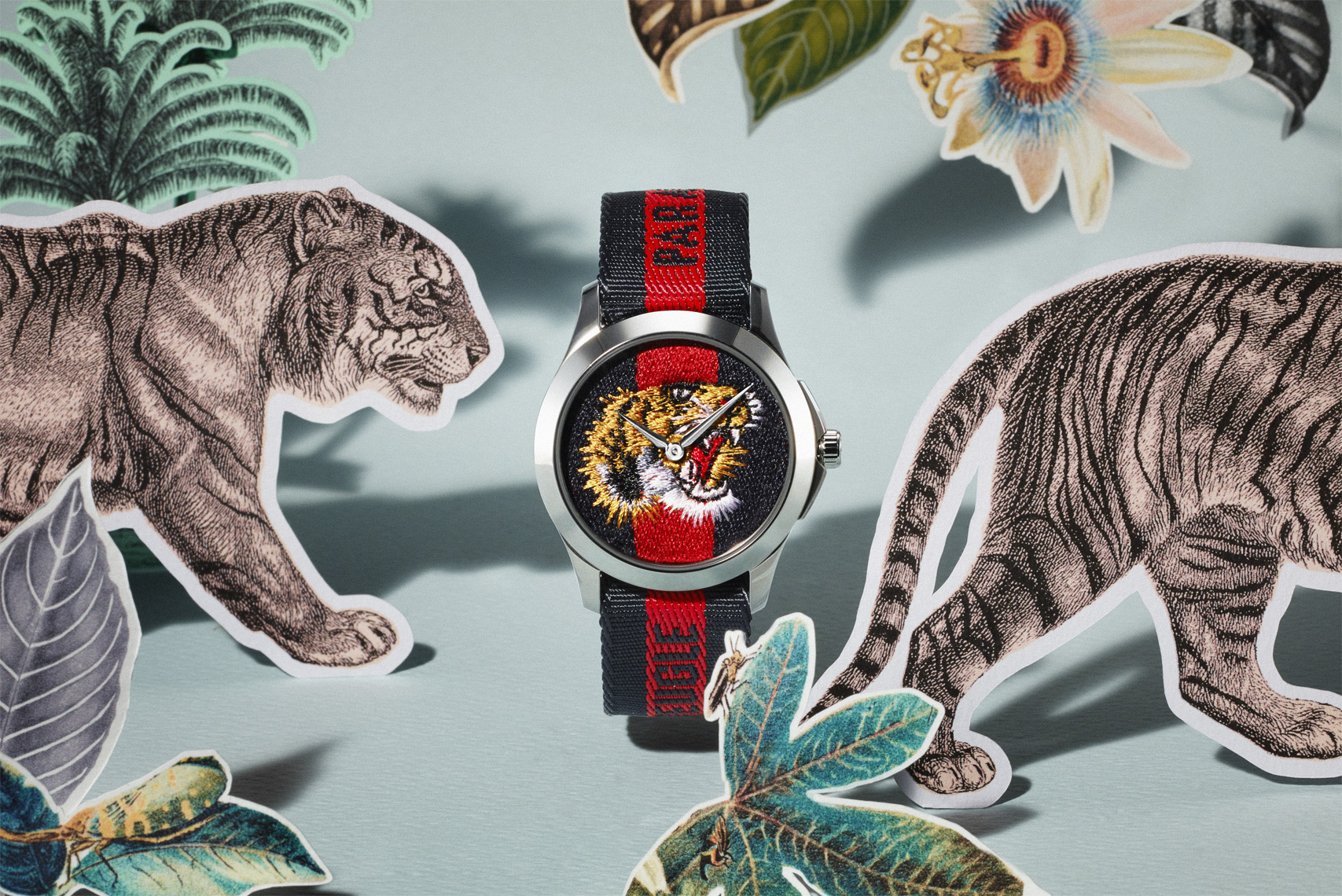 Gucci Watch Jungle Lion