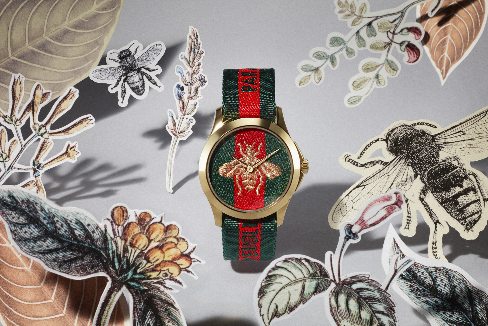 Gucci Watch Jungle Bees