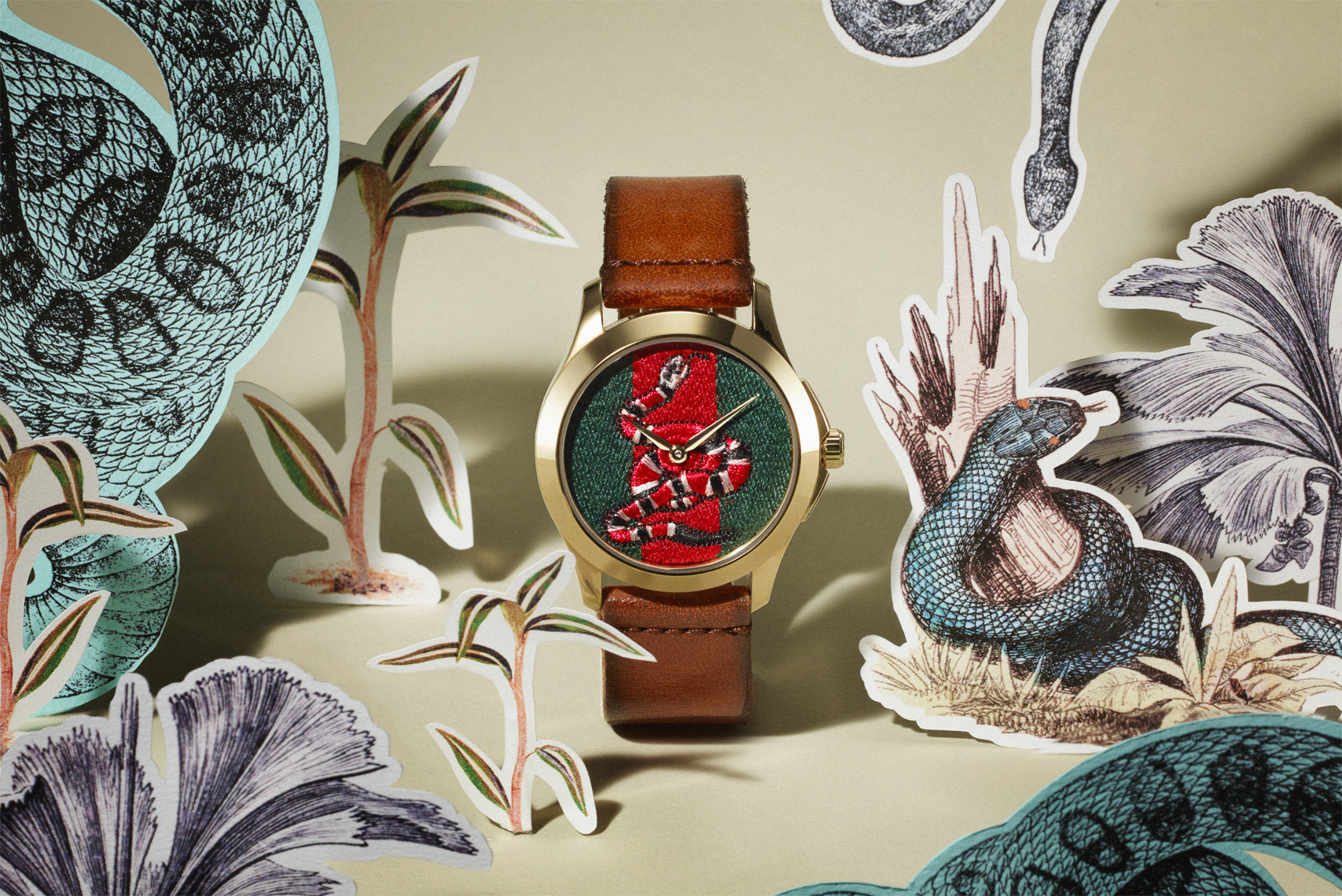 Gucci Watch Jungle Snake